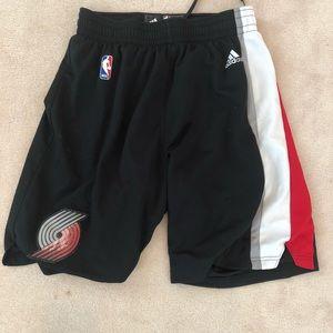 Adidas Basketball Shorts Trail Blazers